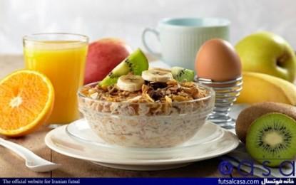ص مثل صبحانه / اهمیت وعده غذایی صبحانه برای ورزشکاران ۱ / ورزش و تندرستی مقاله هفدهم