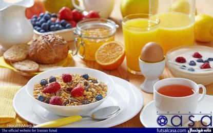 ص مثل صبحانه / اهمیت وعده غذایی صبحانه برای ورزشکاران ۲ / ورزش و تندرستی مقاله هجدهم