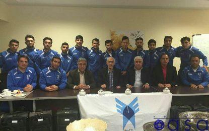 صعود تیم فوتسال دانشجویان ایران به مرحله نیمه نهایی قهرمانی آسیا