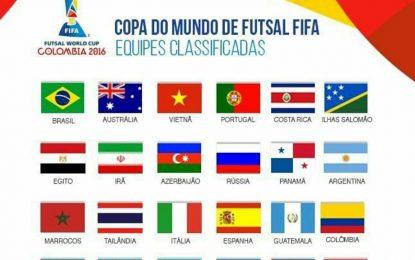 چهره تیمهای حاضر در جام جهانی فوتسال مشخص شد