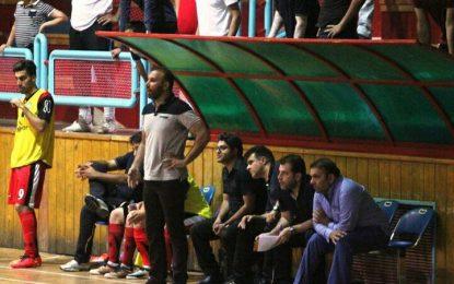 حضور حیدریان در دومین اردوی تیم ملی فوتسال