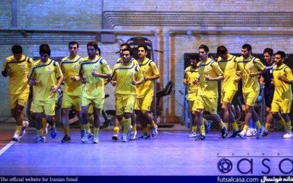 آغاز تمرینات تیم ملی فوتسال در مشهد مقدس