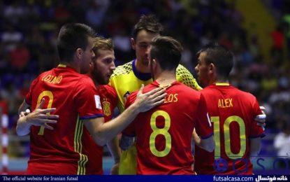 تیم ملی فوتسال اسپانیا از تورنمنت تایلند انصراف نمیدهد