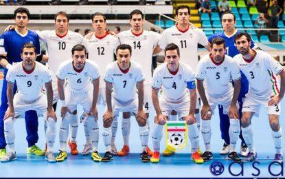 تیم ملی فوتسال ایران همچنان در رتبه اول آسیا و ششم جهان