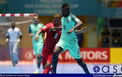 جام جهانی فوتسال کلمبیا ۲۰۱۶؛گزارش تصویری بازی دو تیم پاناما و پرتغال