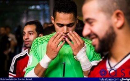 جام جهانی فوتسال کلمبیا ۲۰۱۶؛گزارش تصویری بازی دو تیم مصر و روسیه