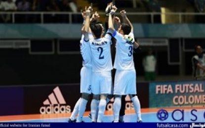 جام جهانی فوتسال کلمبیا ۲۰۱۶؛گزارش تصویری بازی دو تیم ازبکستان و کلمبیا