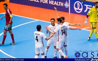 جام جهانی فوتسال کلمبیا ۲۰۱۶؛نخستین پیروزی قدرت آسیا در جام جهانی/ فوتسال ایران از سد مراکش گذشت