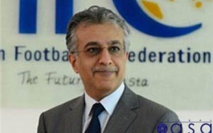 پیام شیخ سلمان به نمایندگان آسیا در جام جهانی فوتسال