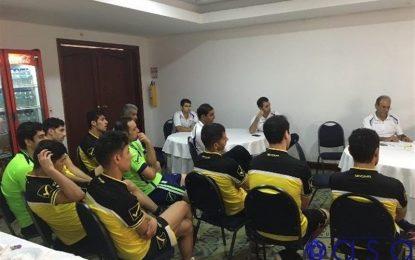 فدراسیون فوتبال: ملیپوشان فوتسال در سلامت کامل در محل اقامت خود در حال استراحت هستند