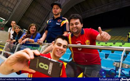 جام جهانی فوتسال کلمبیا ۲۰۱۶؛ سومین روز بازی های جام جهانی از دید دوربین
