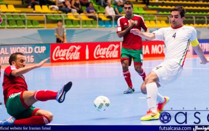 دروازه بان تیم مراکش: ما هماورد یکی از بهترین تیم های فوتسال دنیا بودیم
