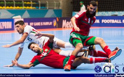 جام جهانی فوتسال کلمبیا ۲۰۱۶؛گزارش تصویری بازی دو تیم ایران و مراکش