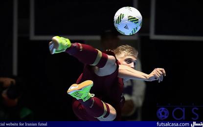جام جهانی فوتسال کلمبیا ۲۰۱۶؛گزارش تصویری بازی دو تیم روسیه و کوبا