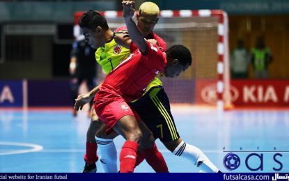ویدئو/جام جهانی فوتسال کلمبیا ۲۰۱۶؛خلاصه بازی دو تیم کلمبیا و پاناما