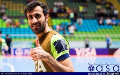 پاسخ منفی به پیشنهاد کویت و عراق؛ حضور اسماعیل پور با تیم شنژن چین در جام باشگاههای فوتسال جهان