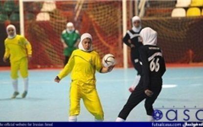 اعلام برنامه نیم فصل دوم مسابقات لیگ برتر فوتسال بانوان