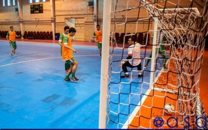 اعلام زمان مسابقات دوستانه تیم های ملی فوتسال زیر ۲۰ سال و بزرگسالان
