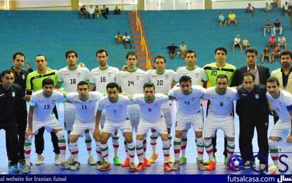 حضور ملی پوشان ایران در تورنتمت چهارجانبه