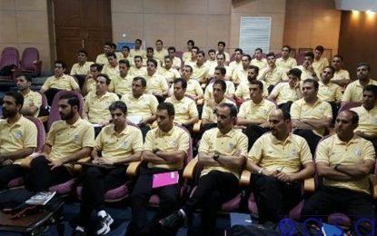 کلاس توجیهی داوران لیگ دسته اول فوتسال برگزار شد