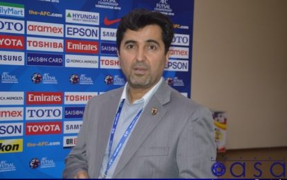 ناظم الشریعه: تیم فوتسال زیر ۲۰ سال قهرمان آسیا میشود/ بازیکنان ایران برای هماهنگی نیاز به زمان دارند
