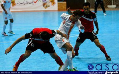 برگزاری تک بازی فینال لیگ فوتسال در تهران