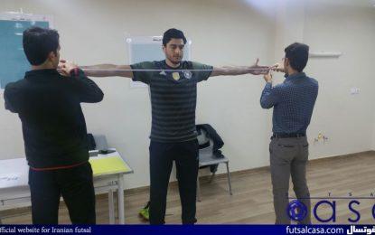 حضور دروازبان تیم ملی در یک پژوهش علمی / صمیمی در دانشگاه تبریز+ عکس