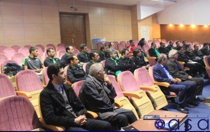 برگزاری مراسم افتتاحیه کلاس مربیگری سطح سه فوتسال
