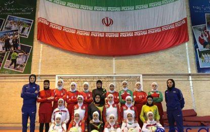 پایان اولین اردوی آماده سازی تیم ملی فوتسال بانوان