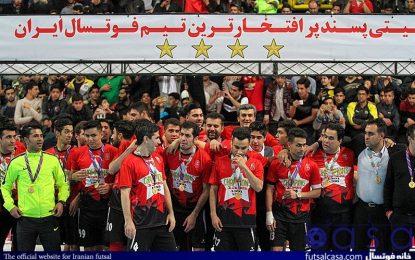 سری دوم گزارش تصویری جشن قهرمانی تیم فوتسال گیتی پسند اصفهان