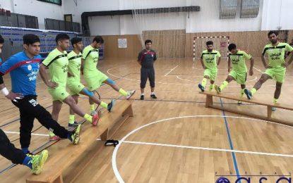 برگزاری تمرین تیم ملی فوتسال در کرواسی + عکس