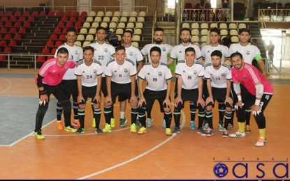 گلزنی بازیکنان ایرانی در جام حذفی فوتسال عراق