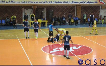 میزبان مسابقات دور نهایی لیگ مناطق بزرگسالان فوتسال مشخص شد