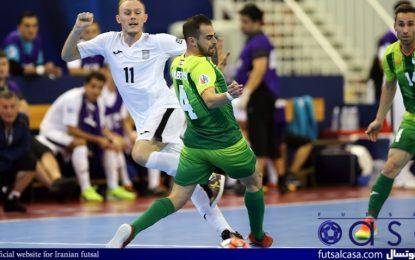 ویدئو/خلاصه بازی دو تیم بانک بیروت ۸-۳ المالیک ازبکستان