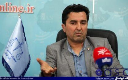 سرمربی تیم ملی فوتسال ایران: جوانان فوتسال ایران در چشمانداز ۲۰۲۰ شکوفا میشوند