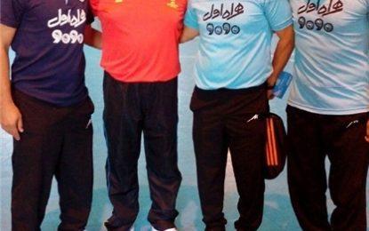 حضور شمس در اردوی تیم ملی فوتسال + عکس