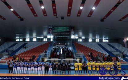 از هفته ششم لیگ برتر؛گزارش تصویری دیدار فرش آرا مشهد و ارژن شیراز