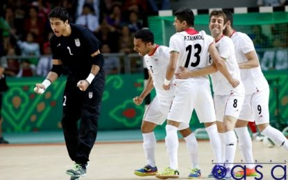 جدیدترین رده بندی تیم های فوتسال جهان/ فوتسال ایران همچنان در جایگاه ششم جهان