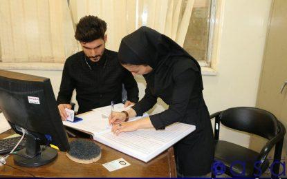 ثبت قرارداد بانوان حفاری در هیات فوتبال+ تصاویر