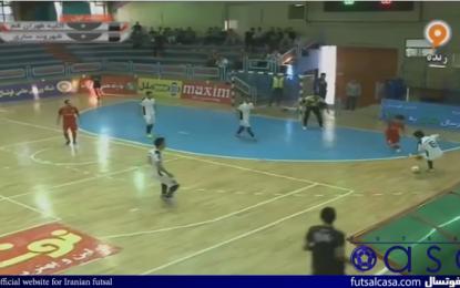 ویدئو/خلاصه بازی دو تیم آتلیه طهران قم و شهروند ساری