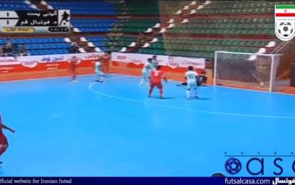 ویدئو/خلاصه دیدار دو تیم گیتی پسند اصفهان و هیات فوتبال قم