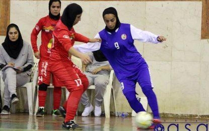 اعلام برنامه دور برگشت رقابتهای لیگ برتر فوتسال بانوان