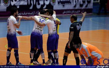 از هفته دوازدهم لیگ برتر؛گزارش تصویری دیدار فرش آرا مشهد و شهروند ساری