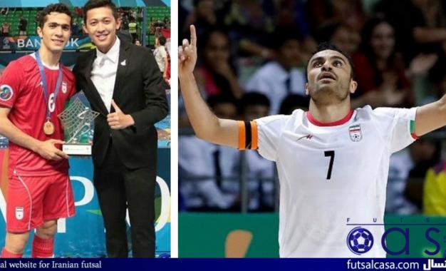 حسنزاده و لطفی کاندیدای بهترین بازیکن فوتسال ۲۰۱۷ آسیا شدند/ جیراوات رقیب ایرانی ها