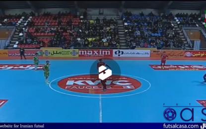 ویدئو/ خلاصه دیدار دو تیم گیتی پسند اصفهان و مقاومت قرچک