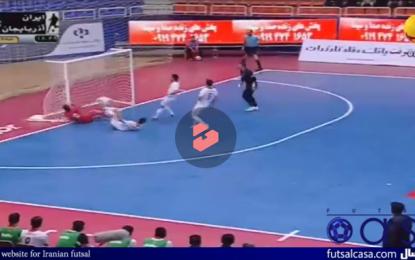 ویدئو/ خلاصه دیدار دو تیم ایران ۳ – ۳ آذربایجان