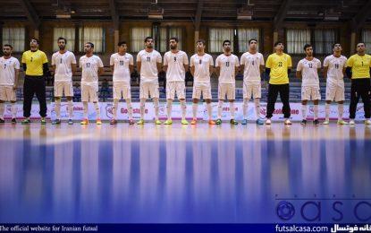 جدیدترین رده بندی فوتسال جهان اعلام شد: ایران همچنان رتبه سوم جهان