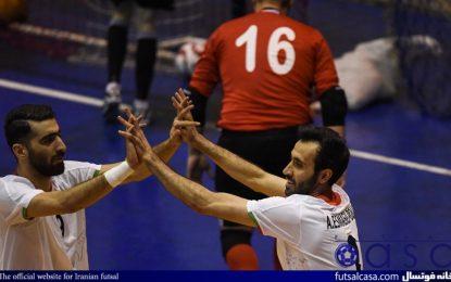 گزارش تصویری دیدار تیم های ملی فوتسال ایران و بلاروس
