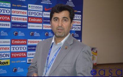 ناظم الشریعه: از ۵ مرداد تمرینات تیم ملی فوتسال را آغاز میکنیم/استارت لیگ فوتسال به خوبی زده شد
