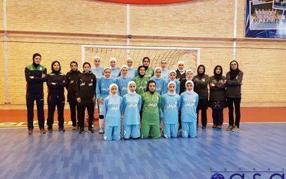برگزاری اردوی تدراکاتی تیم ملی فوتسال جوانان بانوان